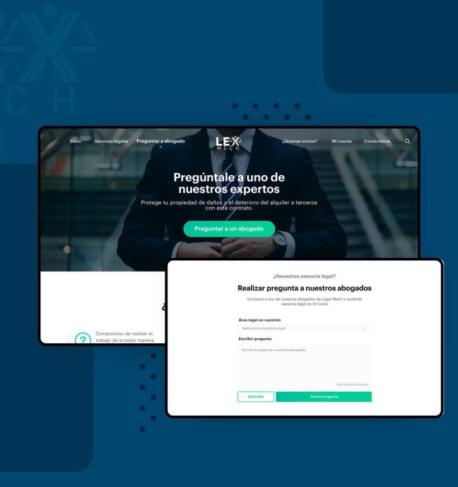 Diseño de plataforma digital para consultas con abogado