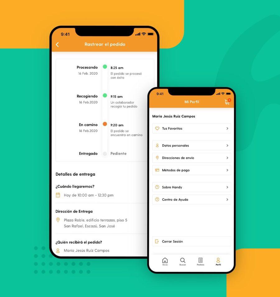 Service design aplicado en pantalla de rastreo de compra