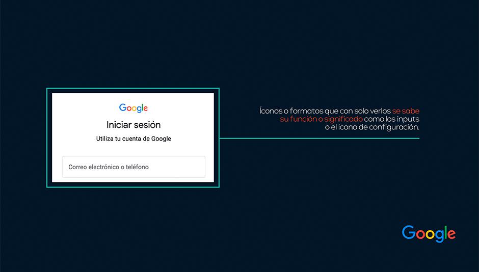 Ejemplo familiaridad en campos de plataforma gmail